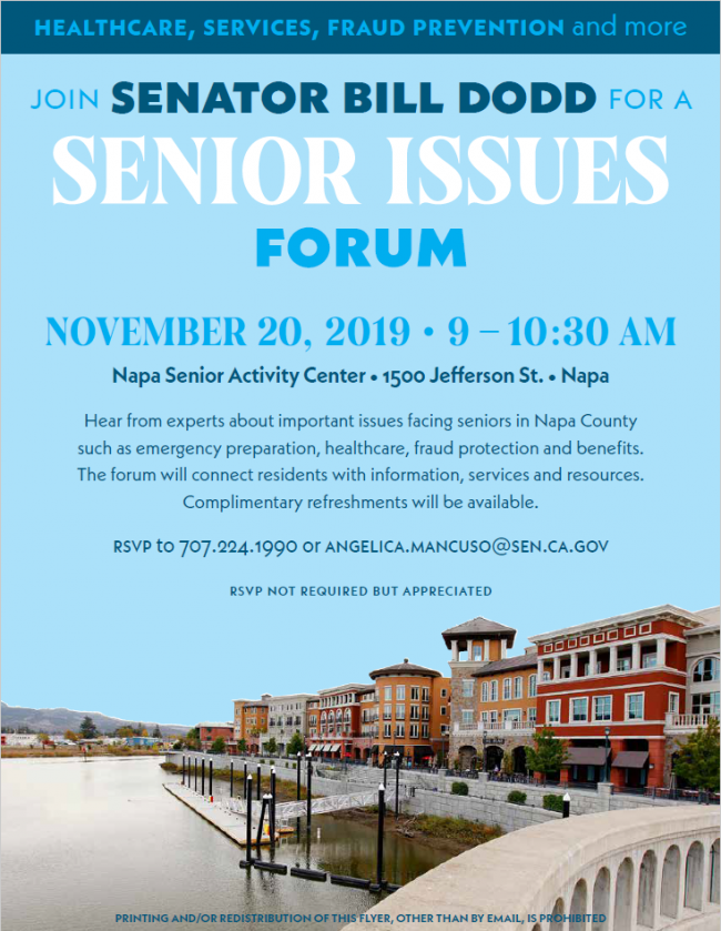 11.20.19 Dodd Semior Issues Forum