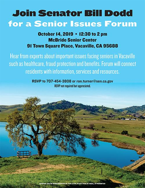 Senior Issues Forum