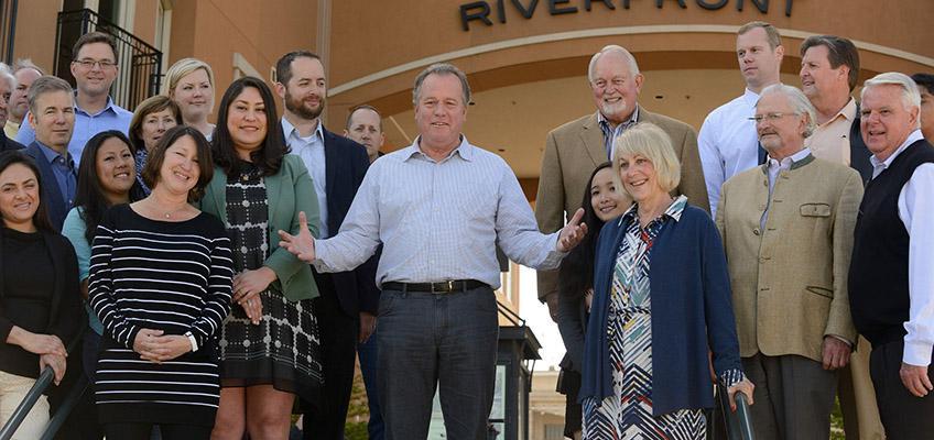 Senator Dodd Town Steps